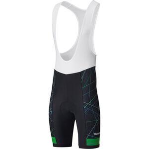 Shimano Team Bib Shorts Herren green green