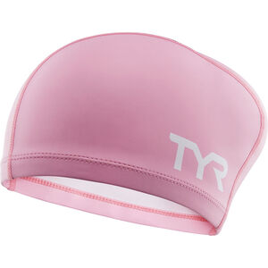 TYR Comfort Long Hair Silicone Cap Kinder pink pink