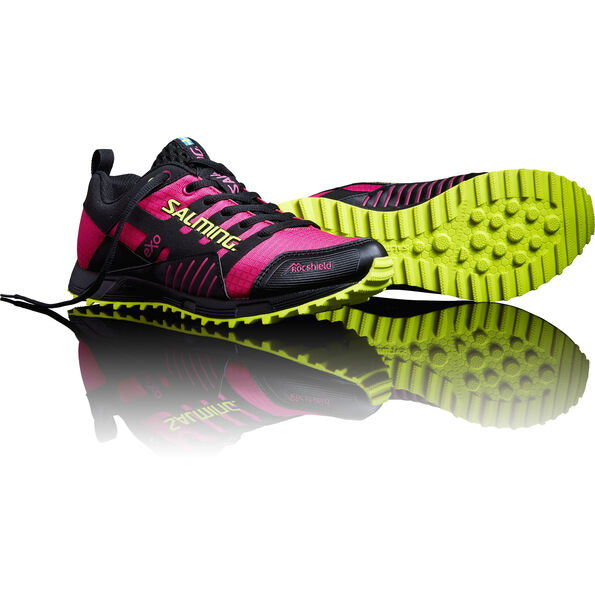 Salming Trail T4 Shoes Damen black/fluo pink
