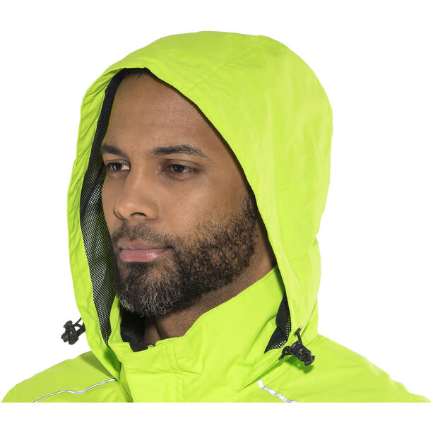 Protective P-Rain II Jacket Herren neon green
