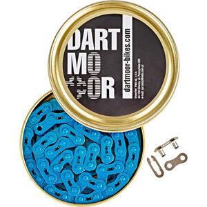 "DARTMOOR Core Kette 3/32"" blau blau"