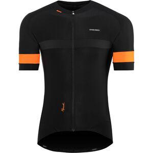 Etxeondo Mendi SS Jersey Herren black-orange black-orange