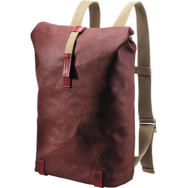Brooks Pickwick Canvas Backpack 26l chianti/maroon