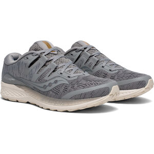 saucony Ride ISO Shoes Men Grey Shade bei fahrrad.de Online