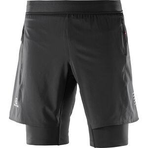 Salomon Fast Wing Twinskin Shorts Herren black black