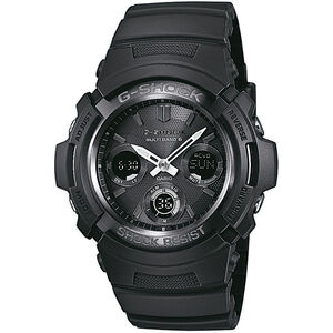 CASIO G-SHOCK AWG-M100B-1AER Watch Men black black