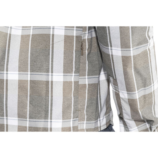 Shimano Transit Check Longsleeve Button Up Shirt Men bei fahrrad.de Online