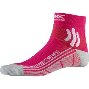 X-Socks Run Speed Two Socks Damen pink pink