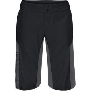 VAUDE Downieville Shorts Herren black/anthracite print black/anthracite print