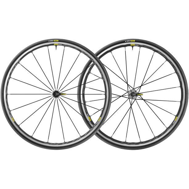 Mavic Ksyrium Elite UST Laufradsatz Shimano/SRAM M-25 schwarz/grau schwarz/grau