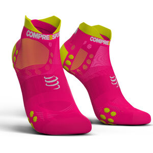 Compressport Pro Racing V3.0 UItralight Run Low Socks fluo pink fluo pink