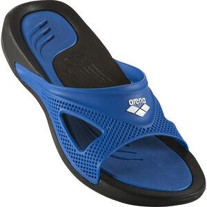 arena Hydrofit Hook Sandals Men black/blue/blue bei fahrrad.de Online