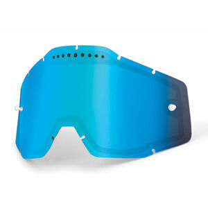 100% Vented Dual Replacement Lenses blue / mirror bei fahrrad.de Online