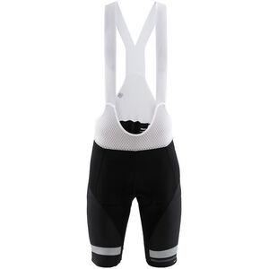 Craft Hale Glow Bib Shorts Herren black/silver black/silver