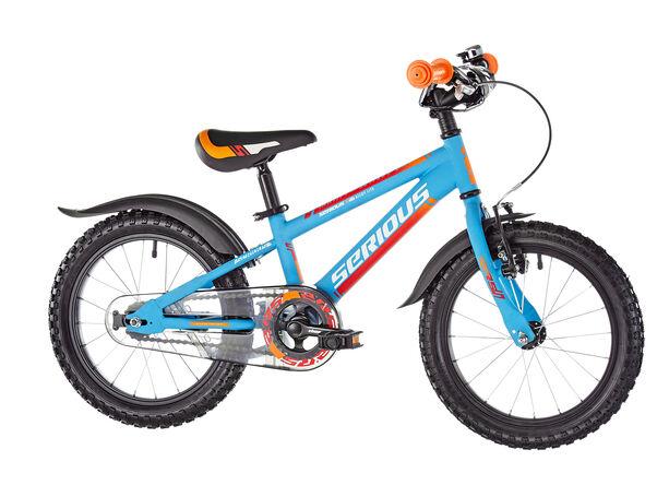 Serious Mountain 16 Kinder light-blue