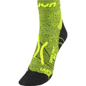UYN Run Super Fast Socks Men Yellow Fluo Melange/Black bei fahrrad.de Online