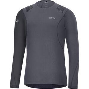 GORE WEAR R7 Longsleeve Shirt Herren terra grey/black terra grey/black