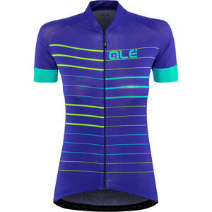 Alé Cycling Solid Ergo SS Jersey Damen pure blue-turquoise pure blue-turquoise