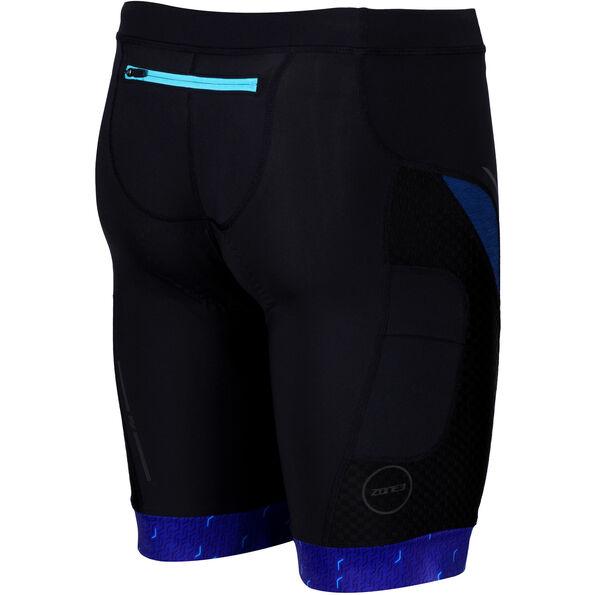 Zone3 Performance Culture Tri Shorts Herren marl navy/black/grey