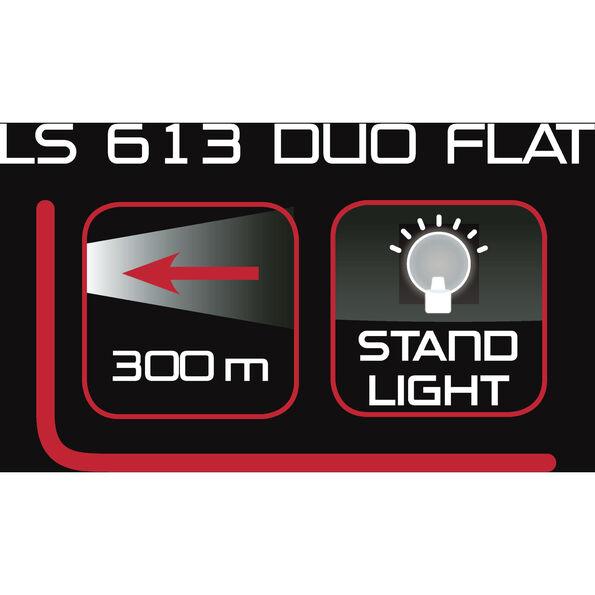 Trelock LS 435 BIKE-i GO / LS 613 Duo Flat Dynamobeleuchtungsset