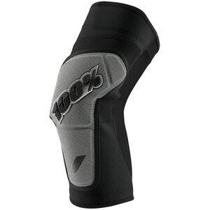 100% Ridecamp Knee Guards black/grey black/grey