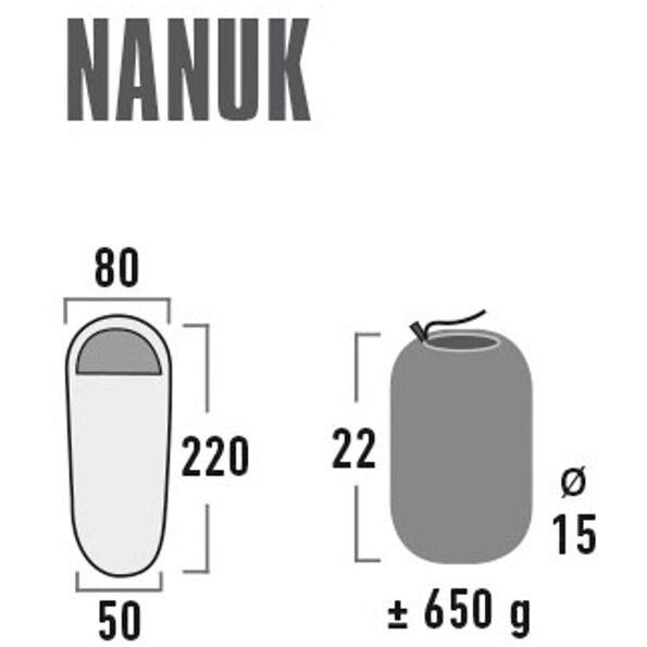 High Peak Nanuk Fleece Sleeping Bag