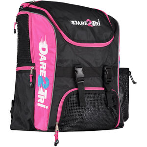 Dare2Tri Transition Backpack 33l black/pink black/pink