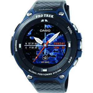 CASIO PRO TREK SMART WSD-F20A-BUAAE Smartwatch Herren black/blue/grey black/blue/grey