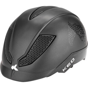 KED Pina Helmet Kids black matt script bei fahrrad.de Online