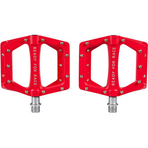 Cube RFR Flat Race Pedale red red