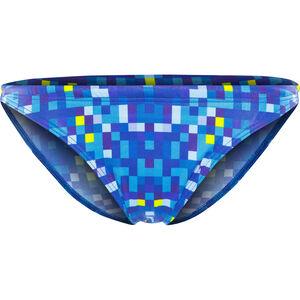 Turbo Pixels Bikini Bottom Damen blue blue