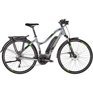 HAIBIKE SDURO Trekking 4.0 Damen grau/schwarz/grün bei fahrrad.de Online
