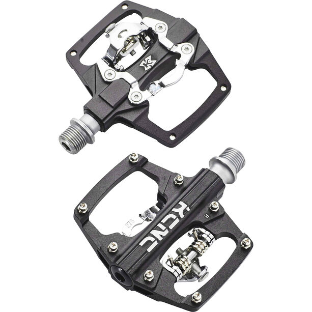 KCNC AM Trap Klickpedal Dual Side black