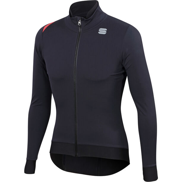 Sportful Fiandre Pro Medium-Protection Jacke Herren black/antharcite