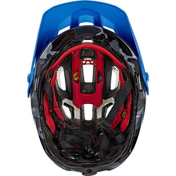 Bontrager Rally MIPS CE Helmet Herren waterloo blue