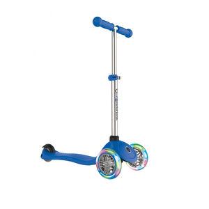 Globber Primo Lights Roller mit Batterielosen LED Rollen Kinder navy blue navy blue
