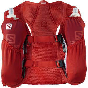Salomon Agile 2 Backpack Set fiery red fiery red