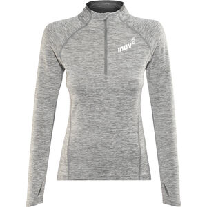 inov-8 Train Elite Mid LS Zip Top Women light grey light grey