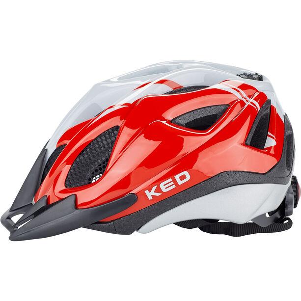 KED Tronus Helmet red pearl