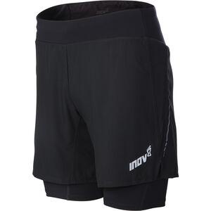 """inov-8 Trail 7"""" Shorts Men black/red bei fahrrad.de Online"""