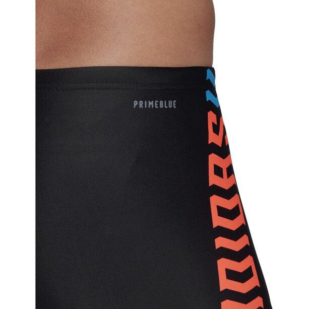adidas Fit Lineage BX Boxer Herren black/app solar red/shock cyan