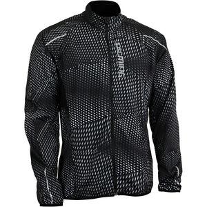 Salming Ultralite 3.0 Jacket Herren black all over print black all over print