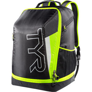 TYR Triathlon Backpack black/flou yellow black/flou yellow