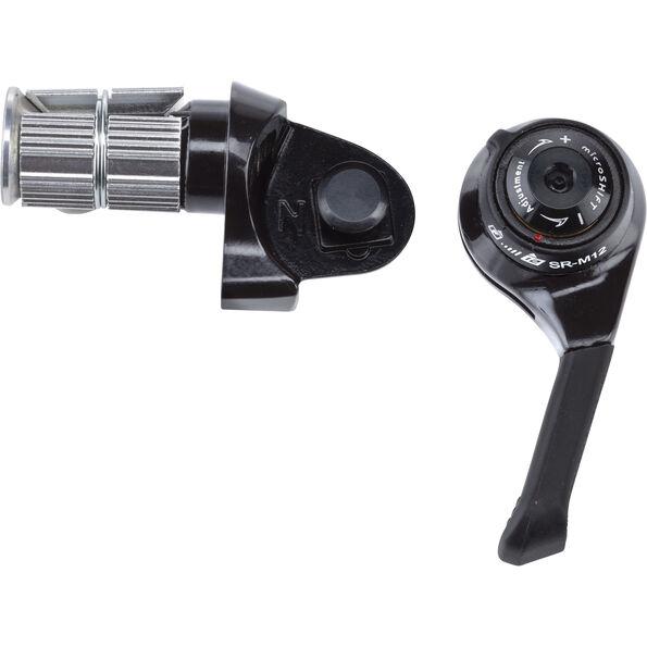 microSHIFT BS-SR-M12 Lenkerendschalthebel SRAM MTB 12-fach kompatibel black