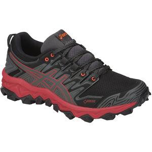 asics Gel-FujiTrabuco 7 G-TX Shoes Damen dark grey/flash coral dark grey/flash coral
