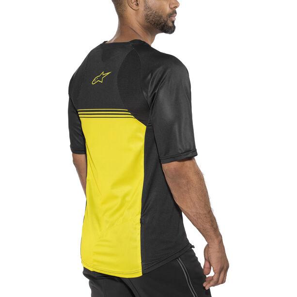 Alpinestars Mesa Shortsleeve Jersey Herren black yellow
