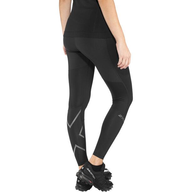 2XU Run Mid Rise Compression Tights Damen black/ black reflective