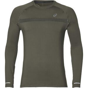 asics Thermopolis Plus LS Shirt Herren mantle green mantle green