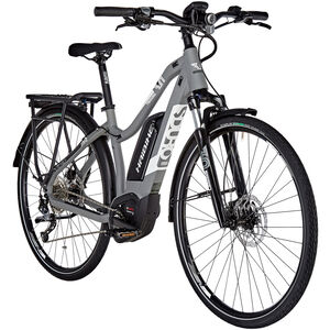 HAIBIKE SDURO Trekking 3.0 Damen grau/weiß/schwarz matt bei fahrrad.de Online