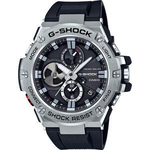 CASIO G-SHOCK GST-B100-1AER Uhr Herren black silver/white black black silver/white black